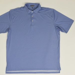 Peter Millar Summer Comfort Big & Tall XXL Blue